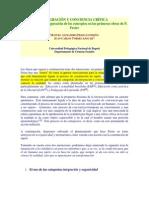 INTEGRACIÓN Y CONCIENCIA CRÍTICA Freire