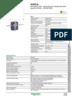 Schneider Electric-XCRE18-Datasheet Micro en Cruz