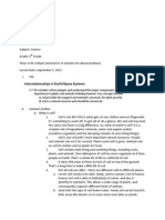 lesson plan demstration science