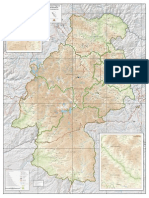 Mapa de Huancavelica