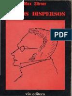 Max Stirner - Textos Dispersos