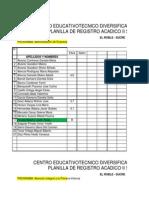 Registro Por Asinaturas Cetdis 2013