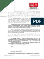 11-06-2013-Ruego sobre participación presupuestos 2013