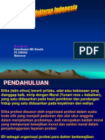 Kode Etik Kedokteran Indonesia