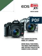 Canon Rebel XTi White Paper