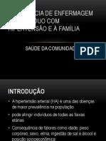 ASSISTÊNCIA DE ENFERMAGEM AO INDIVÍDUO COM HIPERTENSÃO E