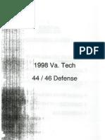 98 Virginia Tech Defense 4-4 4-6