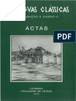 Instituto de Estudos Clássicos - As Línguas Clássicas II - Investigação e Ensino (1995)