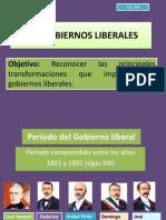 Los Gobiernos Liberales