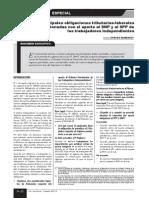 Boletin Informativo Obligaciones Tributarias