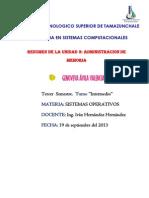 Genoveva Avila Valencia(Resumen)