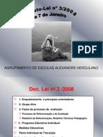Decreto-Lei n º 3 de 7 de Janeiro de 2008 -  Apresentação