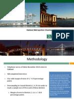 Oakland Chamber Poll PowerPoint