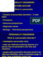 PS 280 12 Personality Disorders