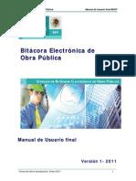 6.2 Manual Usuario Final Bitacora Electronica Beop