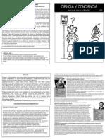 Ciencia y Conciencia, Boletín 2
