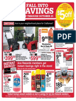 Seright's Ace Hardware Fall Into Savings Sale