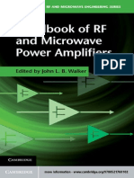 Handbook of RF and Microwave
