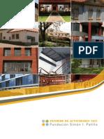 Informe de Actividades Fundacion Simon l Patino