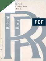 El giro lingüístico-Richard Rorty