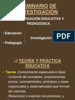 SEMINARIO DE INVESTIGACIÓN. VIII Sem. Lic. en Informätica