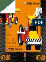 Terex Franna 20t Brochure