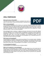 Oral Pemphigoid PIL BSOM