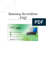 ENG_Samsung SecretZone FAQ Ver 2.0