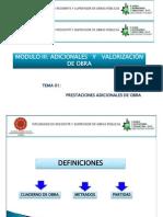 Modulo III Adicionales y Valorizaciones