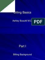 Billing Basics - Hospitalist Lecture - Ashley Busuttil