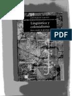 Louis-jean Calvet, Lingüística y colonialismo