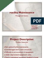UI Maintenance Management System - Slides 1pp