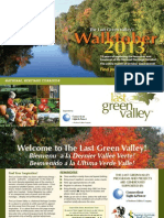 The Last Green Valley's Walktober 2013 Schedule