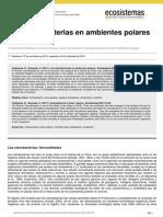 Cianobacterias en Los Polos- EXPO-B