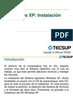 U04 Windows XP - Instalación Básica