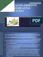 Conservacion de Alimentos Por Alta Temperatura