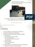 Venezia 2012 Second Best Analysis in a Non-Modigliani-Miller World