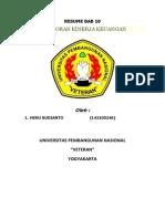 Resume Bab 10 Analisis Laporan Kinerja Keuangan