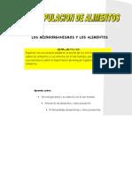 Manipulación de alimentos-Capitulo 2-microorganismos