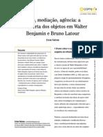 Felinto, Erick - Descoberta Dos Objetos Em Benjamin e Latour