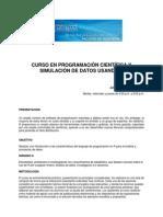 CURSO PROGRAMACION CIENTIFICA