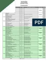 Grade de Pre Requisitos Pucminas - Direito