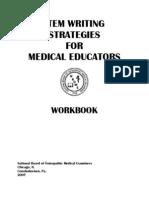 Item-writing Workbook W_o Answers