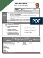 Plan y Prog de Evaluac 3o 2BLOQUE