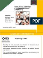 Presentacion Flujo Caja OTEC