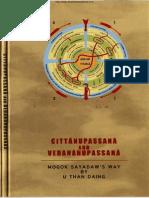 CittaNupassanaAndVedanaNupassana Translated by UThanEDaing