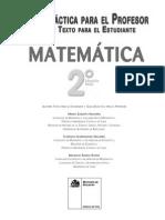 Matemática - II° Medio (GDD)