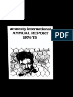 Amnesty International Reports 1975