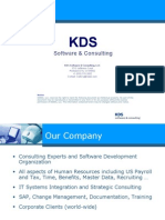 KDSSC- Company Presentation - 2009