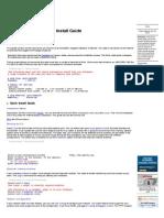 Gentoo Linux Documentation -- Gentoo Linux x86 Quick Install Guide